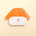 折り紙でかわいい・簡単な犬の折り方! 幼児・子どもも大丈夫!